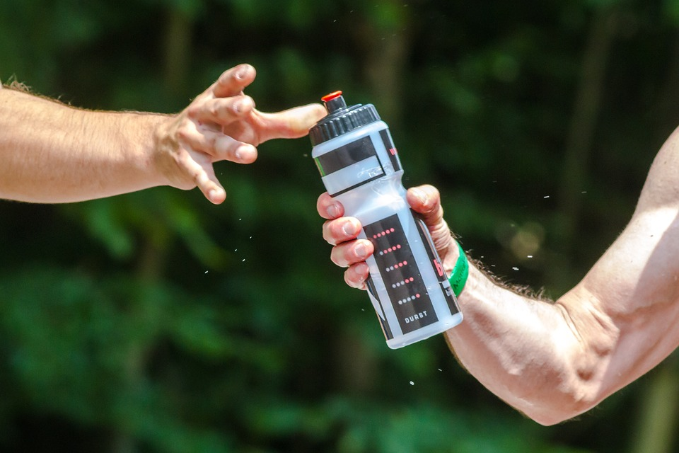 Plastic, Metal, And Glass Water Bottles
