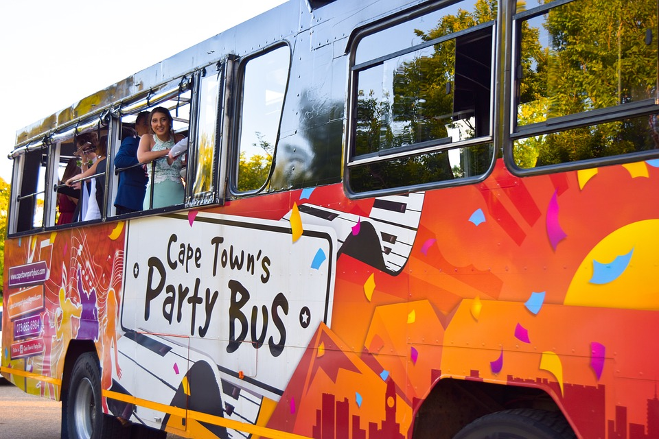 ABCs Of Pink Party Bus Hire