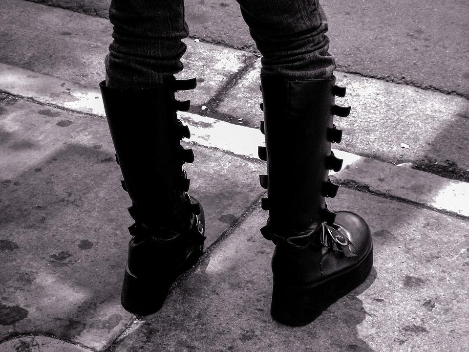 How To Rock Demonia Shoes Like A Celebrity