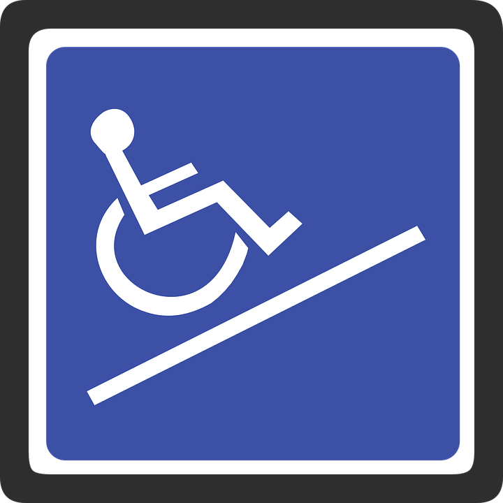 Using The Wheelchair Ramps