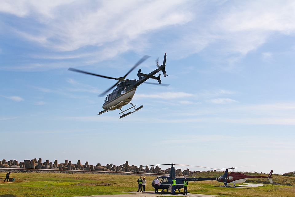 See The Sights – Helicopter Joy Flights