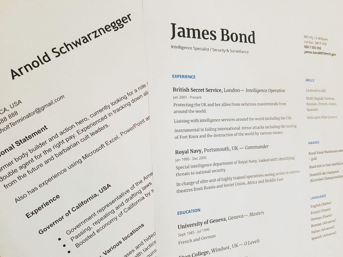 Modern Resume Template Australia – The Format You Should Use
